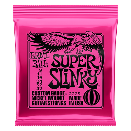 Ernie Ball Super Slinky Strings