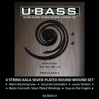 Kala Metal Round Wound U-Bass Strings