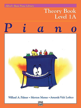 Alfred's Basic Piano Library Theory Books