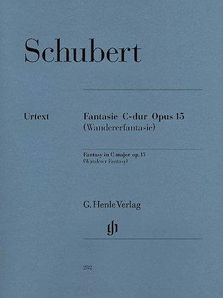 Schubert-FANTASY C MAJOR OP. 15 D 760
