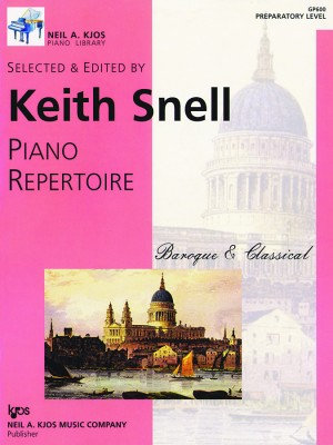 Keith Snell Piano Repertoire Baroque & Classical