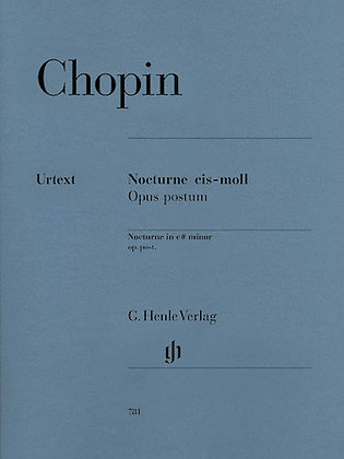 Chopin-NOCTURNE IN C SHARP MINOR OP. POSTH.