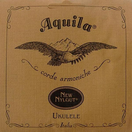 Aquila Banjo Uke Strings Red C