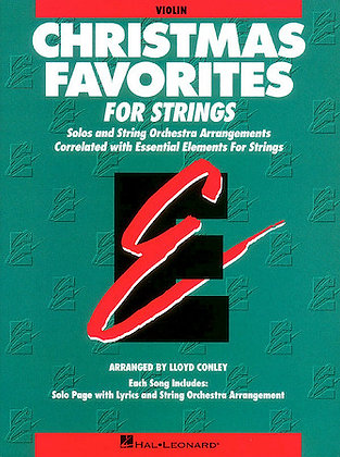 Essential Elements for Strings Christmas