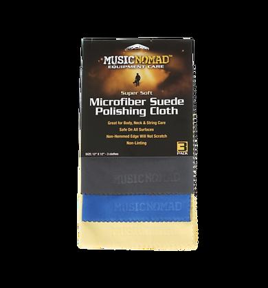Music Nomad 3 set Microfiber Suede Cloths