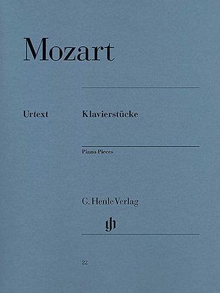 Mozart-PIANO PIECES
