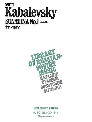 Kabalevsky-SONATINA NO. 1, OP. 13