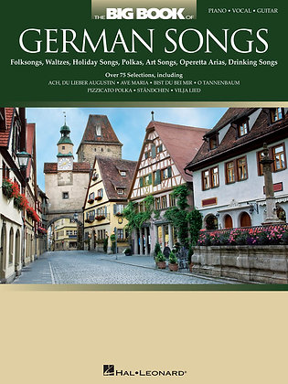 THE BIG BOOK OF GERMAN SONGS