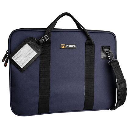 Protec Music Portfolio Bag - Slim, Size Standard, (Blue)