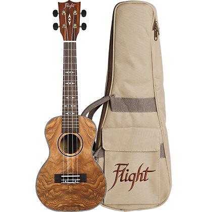 Flight Quilted Ash Concert Uke