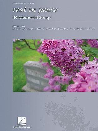 REST IN PEACE-40 Memorial Songs