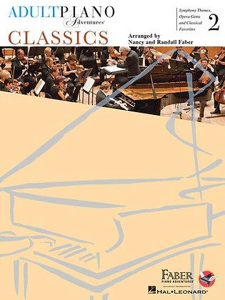 Faber ADULT PIANO ADVENTURES CLASSICS BOOK 2
