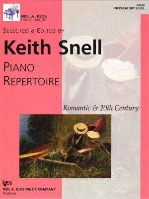 Keith Snell Piano Repertoire Romantic & 20th Century