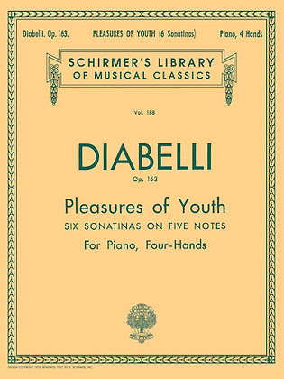 Diabelli PLEASURES OF YOUTH (6 SONATINAS ON 5 NOTES), OP. 163