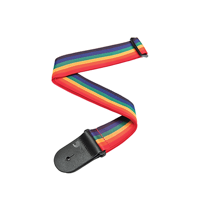 Planet Waves Rainbow Poly Guitar Strap
