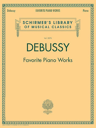 Debussy Favorite Piano Works