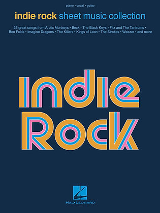 INDIE ROCK SHEET MUSIC COLLECTION