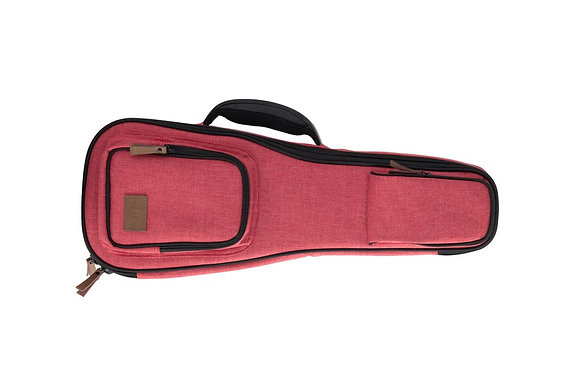 Dlx. Soprano Red Cloth Case