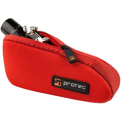 Protec Tuba / Tenor Saxophone Mouthpiece Pouch - Neoprene, Single (Red)