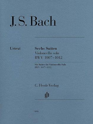 J.S. Bach-6 SUITES FOR VIOLONCELLO SOLO BWV 1007-1012