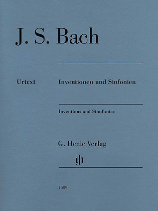 J.S. Bach-INVENTIONS AND SINFONIAS