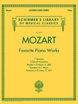 Mozart-Favorite Piano Works
