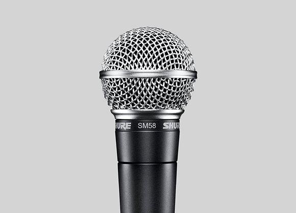 Shure Cardioid Dynamic Vocal Mic w/switch