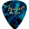Fender Heavy Turquoise Pick Pack