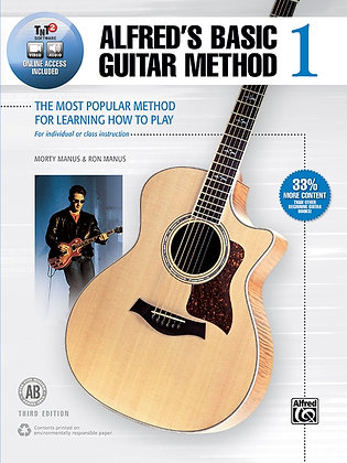Alfred's Basic Guitar Method w/online access