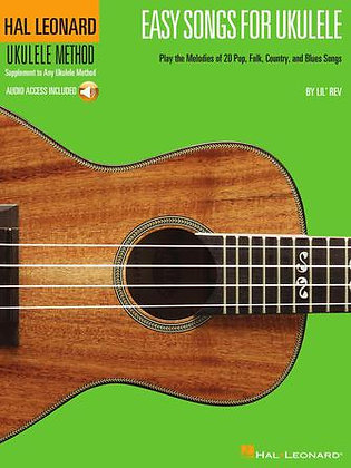 EASY SONGS FOR UKULELE with Audio Access
