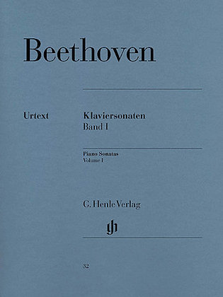 Beethoven-PIANO SONATAS – VOLUME I