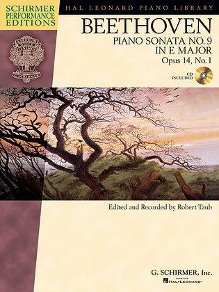 Beethoven: Sonata No. 9 in E Major, Opus 14, No. 1