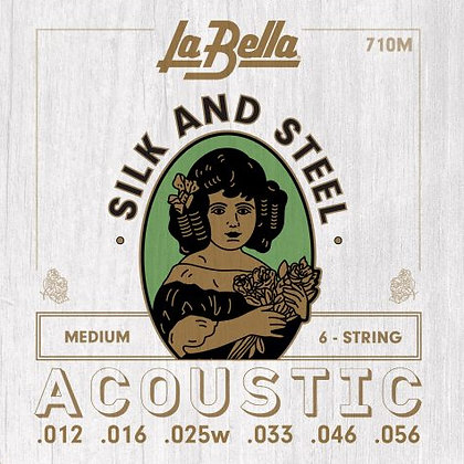 LaBella Silk and Steel Acoustic Medium