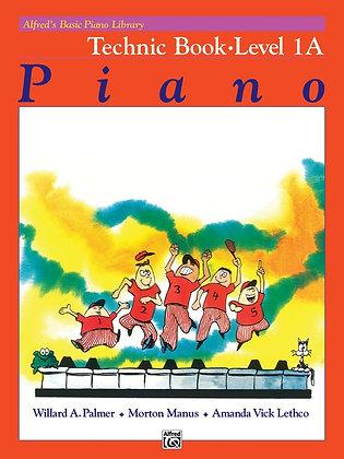 Alfred's Basic Piano Library Technic Boks