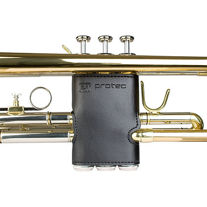 Protec Trumpet Valve Guard - Leather