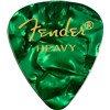 Fender Heavy Green Moto Guitar Pick Pack