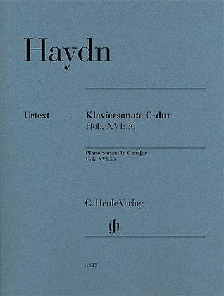 Haydn-PIANO SONATA IN C MAJOR, HOB. XVI:50