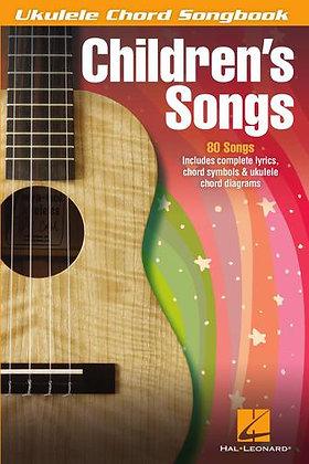 CHILDREN'S SONGS Ukulele Chord Songbook