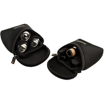 Protec Trombone / Alto Saxophone Mouthpiece Pouch - Neoprene, 3-Piece (Black)