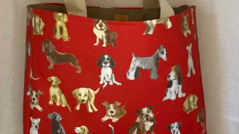 stevige shopper toffe hondjes