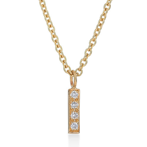 Tower Pave Necklace