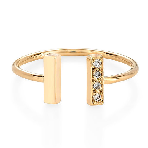 Double Tower Ring