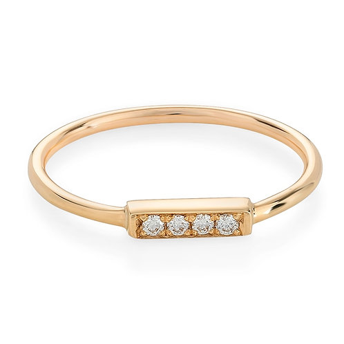 Terrace Pave Ring