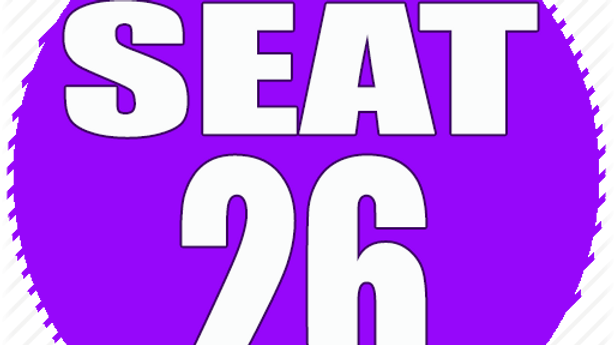 RESERVED SEAT 26