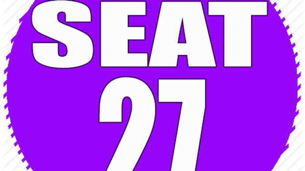 RESERVED SEAT 27
