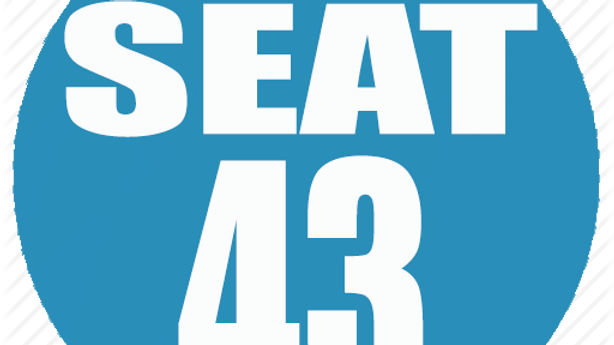 RESERVED SEAT 43