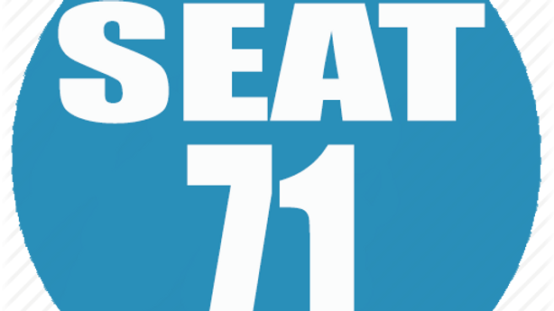 RESERVED SEAT 71