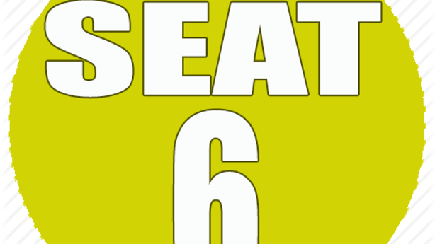 RESERVED SEAT 6