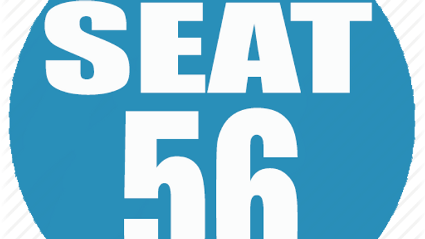 RESERVED SEAT 56