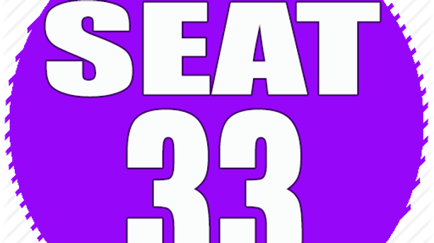 RESERVED SEAT 33
